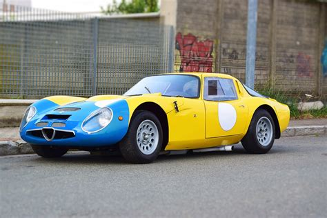 Alfa Romeo Tz2 by 1965 Alfa Romeo Tz2 Tribute Coys Of Kensington