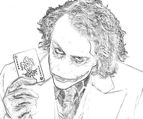joker coloring pages  batman coloring home