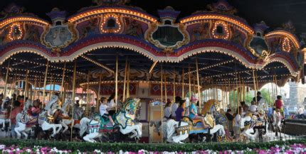 iconic jersey carousel landed  disneys magic kingdom
