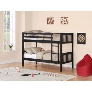 essential home belmont bunk bed save bedroom space at kmart