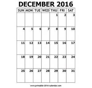 december 2016 us calendar with holidays