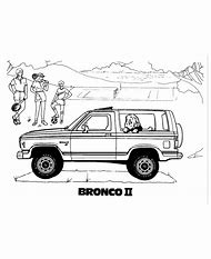 Ford Bronco Coloring Pages