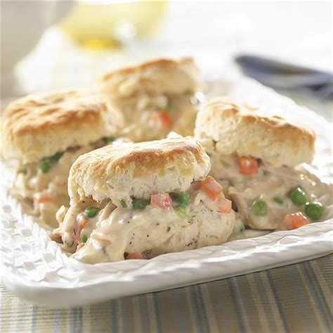 chicken and biscuit recipe old fashioned creamed chicken and biscuits