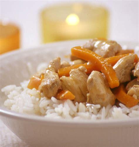 cuisine trucs et astuces sauté de poulet aux carottes et au gingembre les