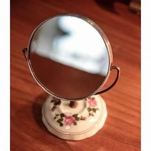 Petit Miroir Sur Pied : petit miroir sur pied ~ Teatrodelosmanantiales.com Idées de Décoration