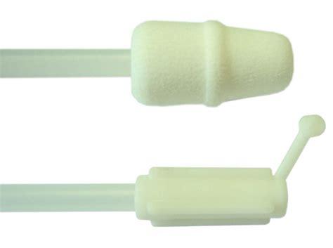 Disposable Foam Tip Catheter For Gilt White End Cap Use