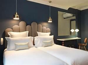 Lit Jumeaux Adulte : chambre tendance hotel paradis chambre bedroom pinterest h tels paris et d co ~ Teatrodelosmanantiales.com Idées de Décoration