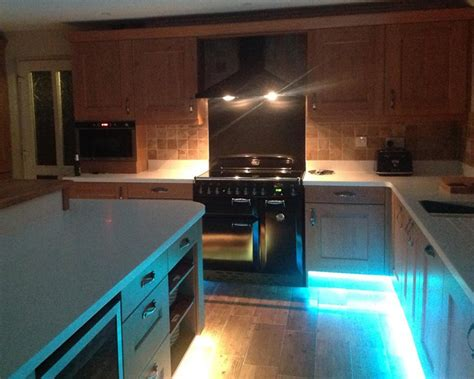 Kitchen Mood Lights by Lighting Your Kitchen T And S Bespoke Kitchens Lighting