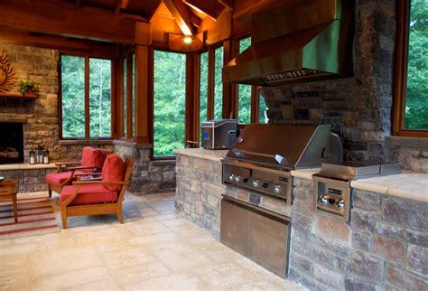 outdoor kitchen design essentials surrounds landscape