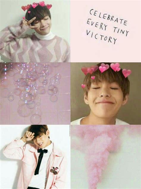 aesthetic bts pink v wallpaper aesthetics mostly bts