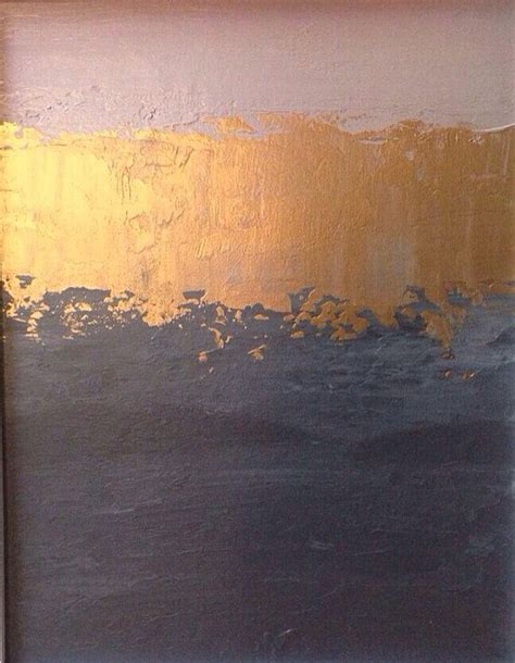gray gold paint color on sale abstract painting 11x14 pink gold and grey color block minimalistic landscape