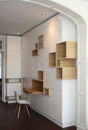 rangement mural bureau grand meuble de rangement mural design avec casiers