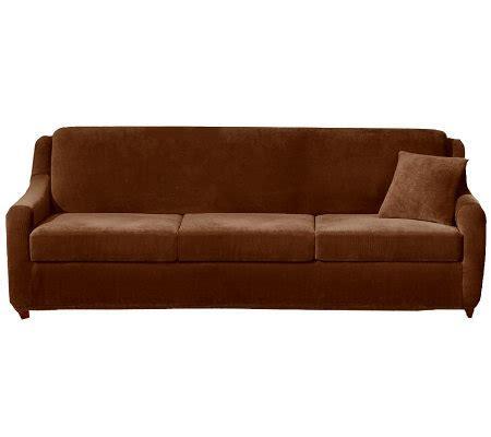 Sleeper Sofa Slip Cover by Sure Fit Strech Pearson 4 Sleeper Sofa