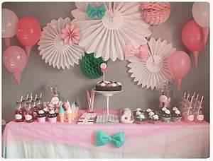 Decoration Anniversaire Fille : chez cette fille anniversaire f te d 39 enfants pinterest birthdays babies and communion ~ Teatrodelosmanantiales.com Idées de Décoration