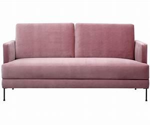 Sofa 2 3 Sitzer : samt sofa fluente 3 sitzer in rosa westwingnow ~ Bigdaddyawards.com Haus und Dekorationen