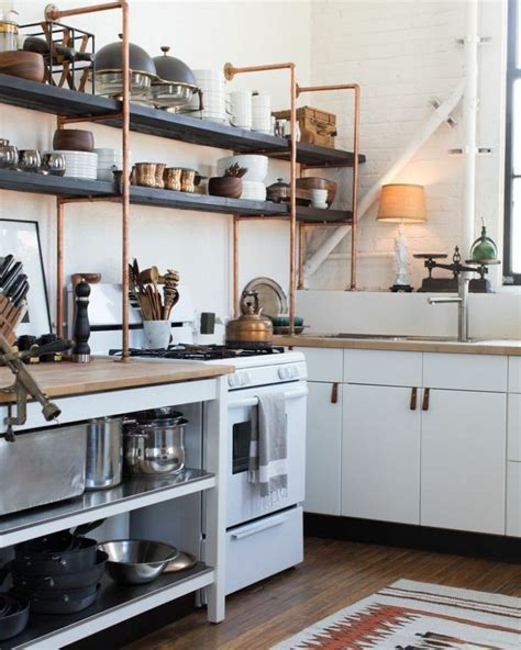 cuisines hacker 65 ideas of open kitchen wall shelves shelterness