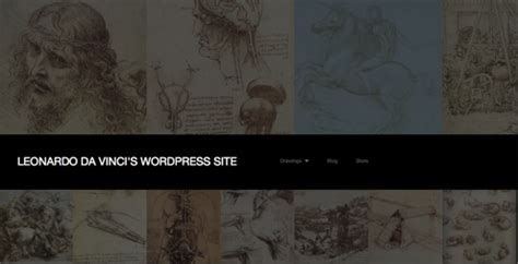 Themes For Artists 11 Gorgeous Themes For Artist Websites