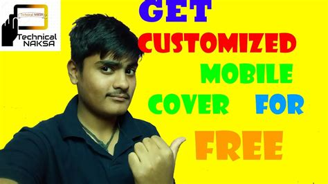 Free Mobile Cover by How To Get Free Mobile Cover Youtube