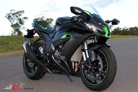 Kawasaki Zx10 R Modification by Review 2018 Kawasaki Zx 10r Se Bike Review