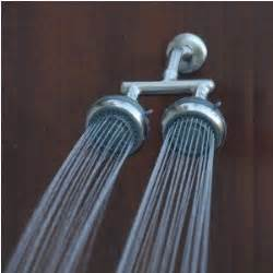 Steam Shower Reviews by A Guide To The Best Double Shower Heads A Great Shower