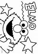 Birthday  Elmo Col...Elmo Birthday Coloring Pages