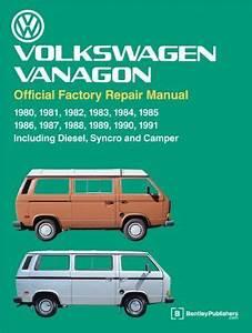 Volkswagen Vanagon Official Factory Repair Manual  1980