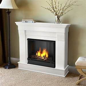 real flame chateau 41 in ventless gel fuel fireplace in With the many benefits of real flame electric fireplace