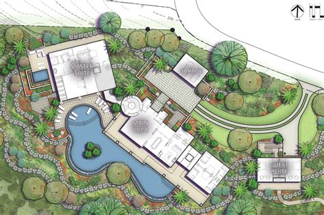 architectural designs house plans caribbean villa on nevis morehouse macdonald and associates