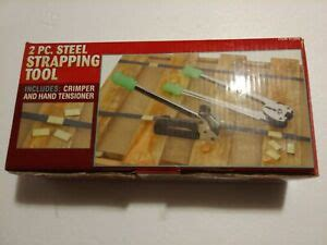 harbor freight strapping tool  piece set  clamps   ebay