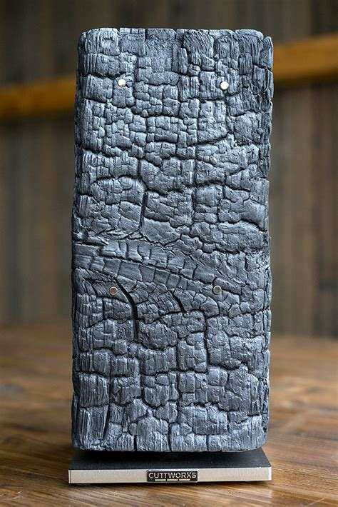 messerblock magnetisch schwarz cuttworxs pyrolith messerblock