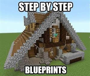 Minecraft Blueprints Step by Step - Bing images