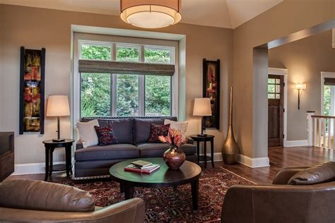 Sherwin Williams Alpaca For A Contemporary Living Room