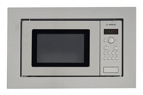 la cuisine au micro onde micro ondes encastrable bosch hmt75m651 inox hmt75m651