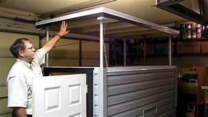 Homebuilt pop up roof lift system