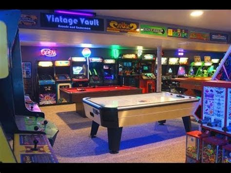 basement arcade vintage vault arcade   youtube