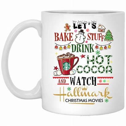 Hallmark Cocoa Christmas Movies Bake Stuff Drink