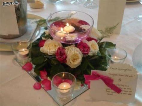 centrotavola matrimonio con candele centrotavola con e candele galleggianti lavillotti