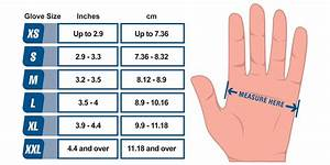 Glove Size Chart Ammex