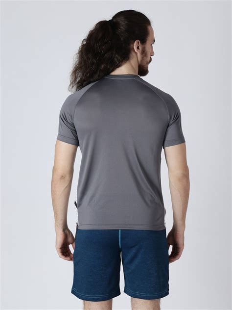 Alcis Grey Polyester T-Shirt Single Pack - Buy Alcis Grey Polyester T-Shirt Single Pack Online ...