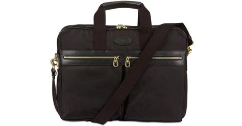 df2616de5f0 Lyst Mulberry Henry Overnight Nylon Briefcase Bag In