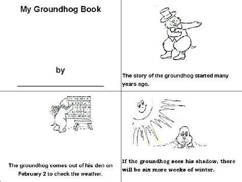 new 934 grade printable reading booklets 990 | groundhogbook2