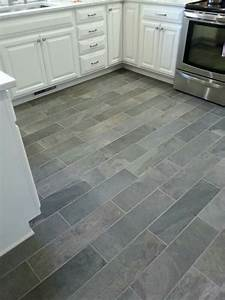 9 kitchen flooring ideas porcelain tile slate and With what kind of paint to use on kitchen cabinets for ceramic tile stickers