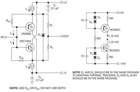 Low Distortion Discrete Buffer Amplifier Handles Bipolar