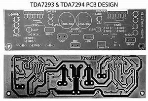 Tda7293 Vs Tda7294 Audio Power Amplifier Project