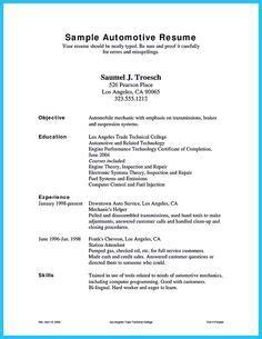 vehicle mechanic resume skills automotive mechanic resume exle posts the o jays and resume help