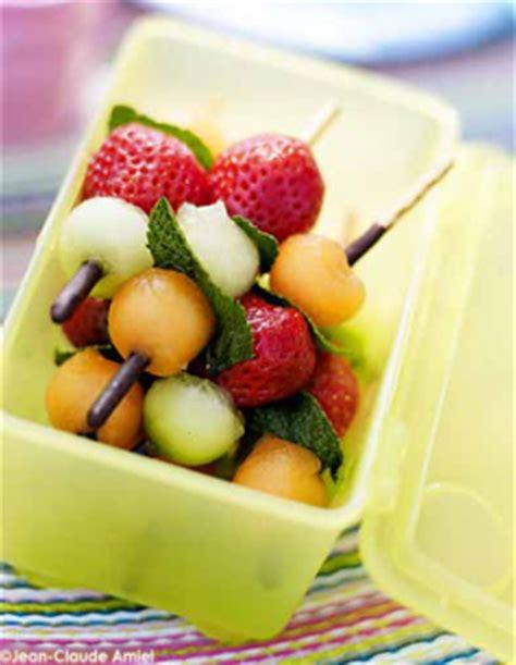 la cuisine du marché cavaillon brochettes croustillantes aux fruits d 39 été pour 4