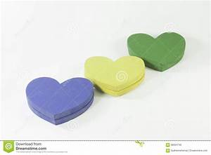 Colorful Hearts Stock Photo - Image: 58004745