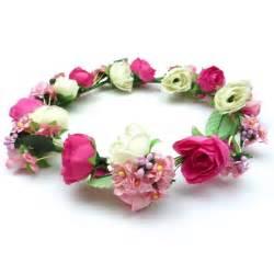 couronne de fleur mariage couronne fleurs serre tête fleur