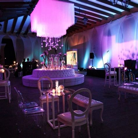 Lounge Seating Wedding Reception Ideas  Purple Wedding