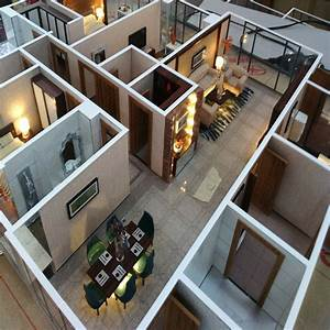 Interior Layout House Model /scale Model,Apartment